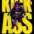 KICK-ASS Original Movie Poster * HIT GIRL * 4' x 6' Rare 2010 NEW