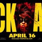 KICK-ASS Original Movie Poster * RED MIST * 4' x 5' Rare 2010 NEW