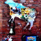 RATCHET & CLANK Original Game Poster * MOO-TATOR * 4' x 6' Rare 2007 MINT