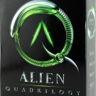 Alien Quadrilogy ( Alien /  Aliens / Alien 3 / Alien Resurrection ) DVD BOX SET 2003 MINT