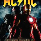 AC / DC * IRON MAN 2 * Music Poster 2' x 3' Rare 2010 NEW