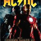 AC / DC * IRON MAN 2 * Music Poster 2' x 3' Rare 2010 NEW