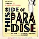 "This Side Of Paradise Original Off-Broadway Poster 14"" x 22"" Rare 2010 NEW"