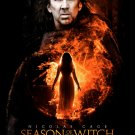 SEASON OF THE WITCH Original Movie Poster * NICOLAS CAGE * 27 x 40 DS Rare 2010 NEW