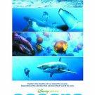 Disney's OCEANS Original Movie Poster * JACQUES PERRIN * 27 x 40 DS Rare 2010 NEW