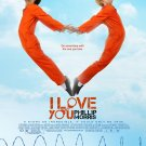 I Love You Phillip Morris * JIM CARREY & EWAN McGREGOR * Orig. Movie Poster 4' x 6' Rare 2010 NEW