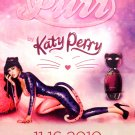 Katy Perry's * PURR * Original AD Poster 2' x 3' NEW 2010