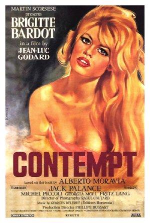 "Godard's CONTEMPT Movie Poster * BRIDGET BARDOT * 27"" x 40"" Rare 1998 NEW"