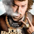 YOUR HIGHNESS Original Movie Poster * Danny McBride * HUGE 4' x 6' Rare 2011 Mint