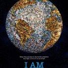 """I AM Original Documentary Movie Poster * Noam Chomsky * 27"""" x 40"""" Rare 2011 Mint"""