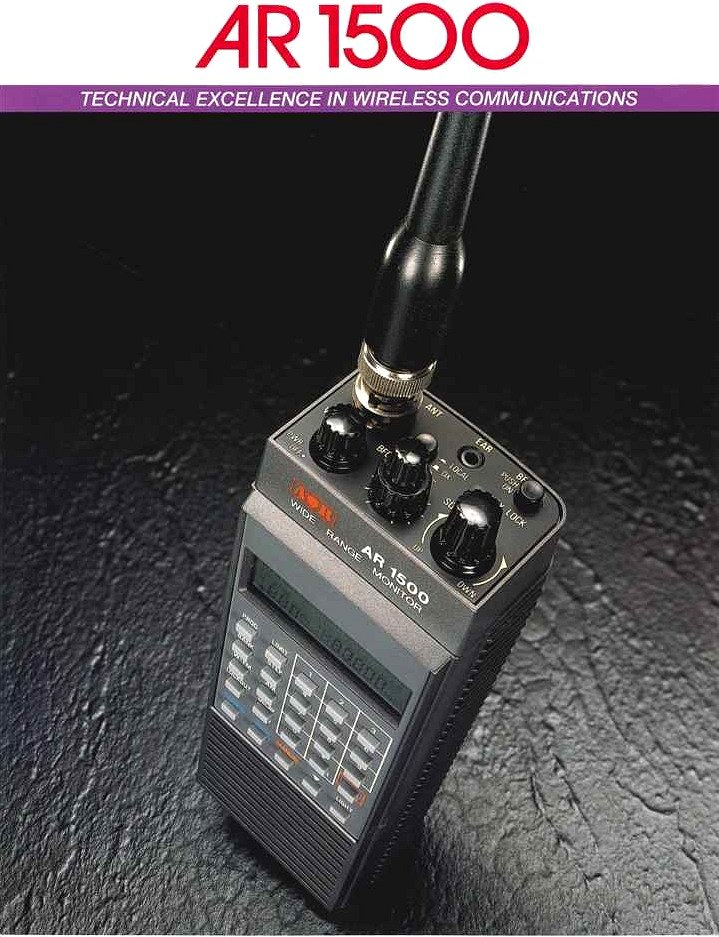 AOR AR-1500 Handheld HF VHF UHF Scanner Receiver New in Box