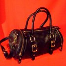 Cole Haan * PAIGE * Convertible Tote Black Leather Bag Mint
