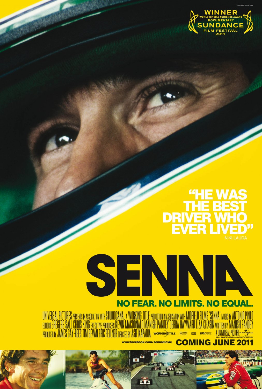 "SENNA Original Movie Poster 27"" x 40"" Rare 2010 Mint"