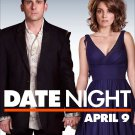 "DATE NIGHT Original Movie Poster * Steve Carell & Tina Fey * 27"" x 40"" Rare 2010 Mint"