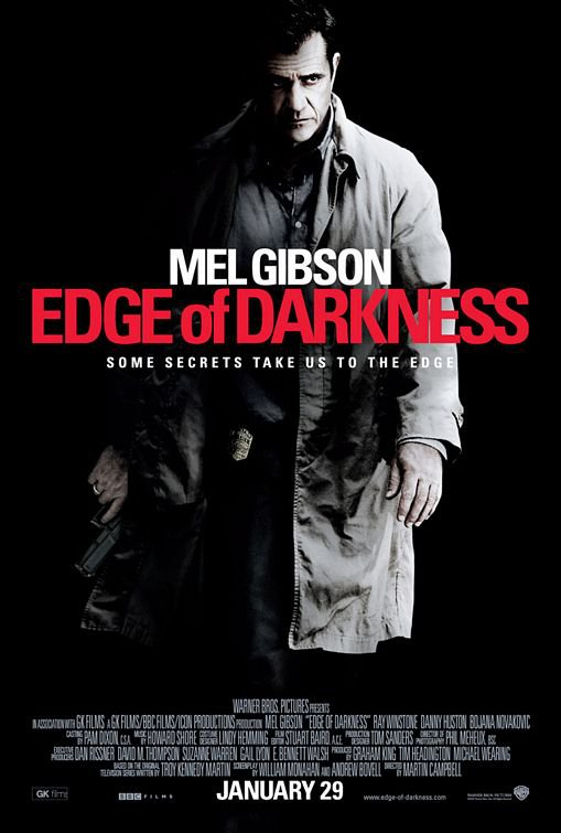 "Edge Of Darkness Original Movie Poster * MEL GIBSON * 27"" x 40"" Rare 2010 Mint"
