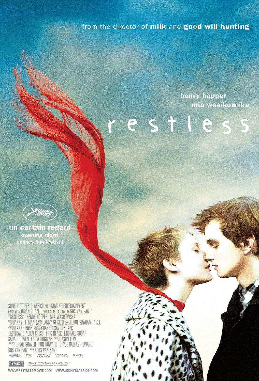 "RESTLESS Original Movie Poster * Mia Wasikowska * 27"" x 40"" Rare 2011 Mint"