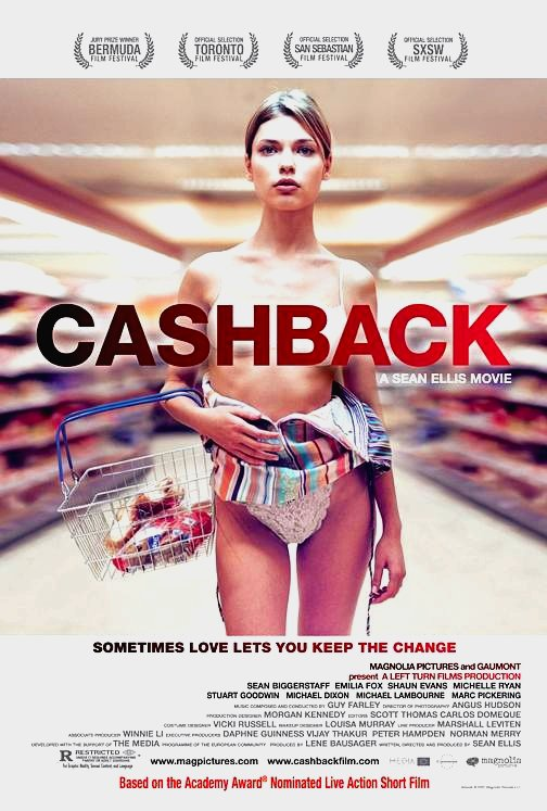 CASHBACK Movie Poster * IRENE BAGACH * 2' x 3' Rare 2007 NEW