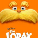 Dr. Seuss' THE LORAX Original Movie Poster Huge 4' x 6' Rare 2012 Mint