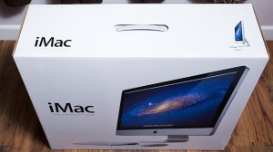"Apple iMac 27"" inch  * Retail BOX ONLY * NEW"
