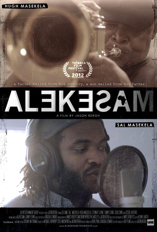 ALEKESAM Original Movie Poster * Hugh Masekela * 2' x 3' Rare 2012 Mint