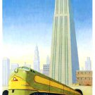 Robert LaDuke Original Art Poster * BIG CITY * 2' x 3' Rare 2000 Mint