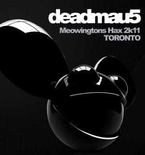 deadmau5 * Meowingtons Hax Tour * Original Music Poster 2' x 3' Rare 2012 MINT