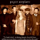 "Alison Krauss and Union Station * PAPER AIRPLANE * Original Music Poster 14"" x 22"" Rare 2011 Mint"