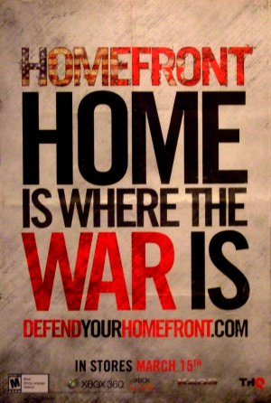 HOMEFRONT Original Game Poster SET 2' x 3' Rare 2011 Mint