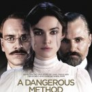 "Cronenberg's A DANGEROUS METHOD Original Movie Poster * Keira Knightley * 27"" x 40"" Rare 2011 Mint"
