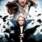 SNOW WHITE AND THE HUNTSMAN Original Movie Poster * CHARLIZE & CAST * Huge 4' x 6' Rare 2012 Mint