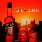Aperol Spritz * Taste The Sunset * Original AD Poster 2' x 3' Rare 2012 Mint