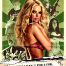 "ZOMBIE STRIPPERS Original Movie Poster * Jenna Jameson * 27"" x 40"" Rare 2008 Mint"