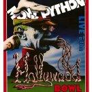 "Monty Python * LIVE at the HOLLYWOOD BOWL * Original Movie Poster 27"" x 40"" Rare 1982 Mint"