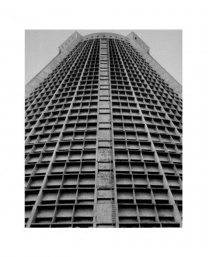 "Black & White Original Gallery Art Print SET * ARCHITECTURAL * 20"" x 25"" Rare 1995 Mint"