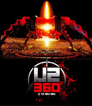 U2 360° * The CLAW * At The ROSE BOWL Original Music Poster 3' x 4' Rare 2010 Mint
