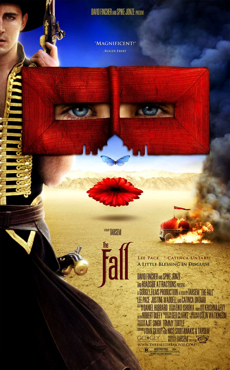 Tarsem's THE FALL Movie Poster * CATINCA UNTARU & LEE PACE * 4' x 6' Rare 2008 Mint