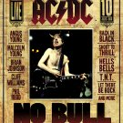 AC/DC * Plug Me In & No Bull * 2 Poster SET 2' x 3' Rare 2008 Mint