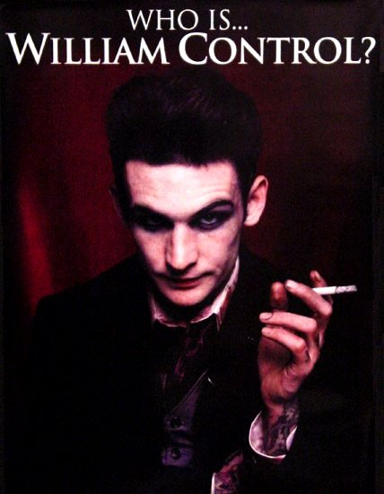 William Control * HATE CULTURE * Music Poster 2' x 3' Rare 2008 Mint