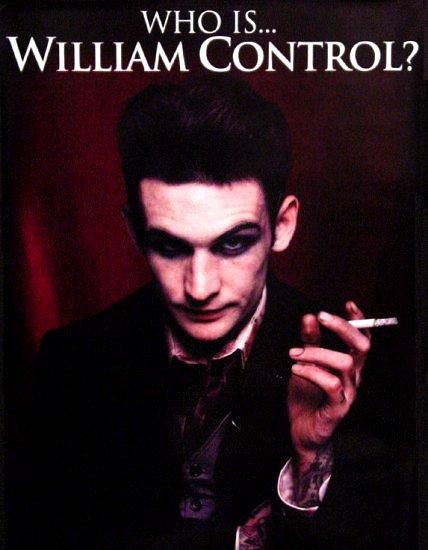 William Control * HATE CULTURE * Music Poster 2' x 3' Rare 2008 Mint