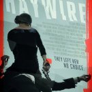 HAYWIRE Original Movie Poster * Gina Carano * Huge 4' x 6' Rare 2012 Mint