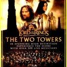 "LOTR The Two Towers * LIVE * Original Lobby Card  RADIO CITY NYC 6"" x 9"" Rare 2010 Mint"