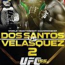 Dos Santos vs. Velasquez 2 Original UFC 155 Poster 2' x 3' Rare 2012 Mint