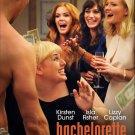 "Bachelorette Original Movie Poster * Kirsten Dunst *  27"" x 40"" DS Rare 2012 Mint"