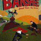 "BANSHEE Original Poster * Antony Starr * Cinemax 27""'x 40"" Rare 2013 Mint"