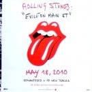 The Rolling Stones * EXILE ON MAIN ST. * Original Music Poster 2' x 3' Rare 2010 Mint
