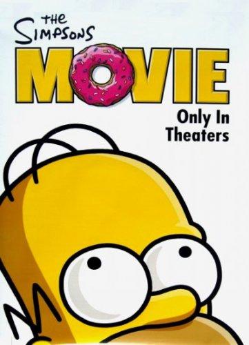 SIMPSONS Original Movie Poster * HOMER * 2' x 4' Very Rare 2007 Mint