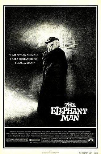 "The Elephant Man Original Movie Poster * JOHN HURT * 27"" x 40"" Rare 1980 Mint"