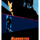 "Manhunter Original Movie Poster * WILLIAM PETERSEN * 27"" x 40"" Rare 1986 Mint"