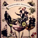 Hendrick's Gin Original AD Poster * UNDENIABLY PECULIAR * 2' x 3' NEW 2010 Rare