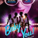 "BABY IT'S YOU ! Original Broadway Theater Poster * Beth Leavel * 14"" x 22"" Rare 2011 Mint"
